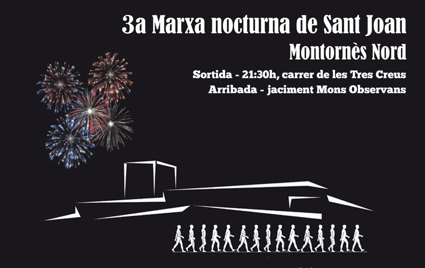 3a Marxa Nocturna de Sant Joan Montornès Nord.