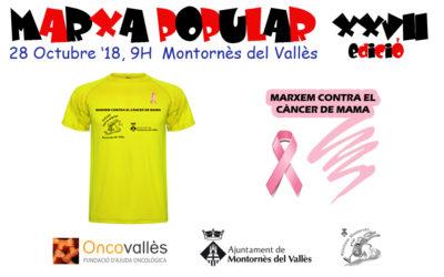 Marxem contra el càncer de mama