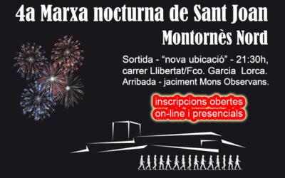 4a Marxa Nocturna Sant Joan '19