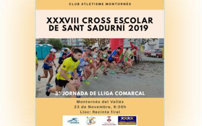 XXXVIII CROSS ESCOLAR DE SANT SADURNÍ '19